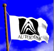 Autodesk flag