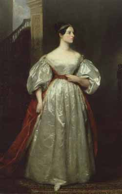 Portrait of Ada Augusta, Countess of Lovelace