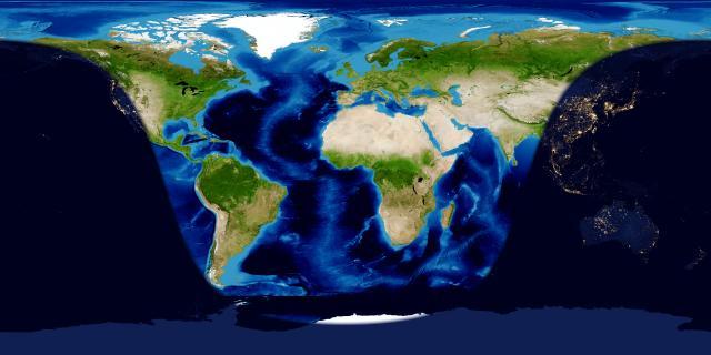 NASA Blue Marble: