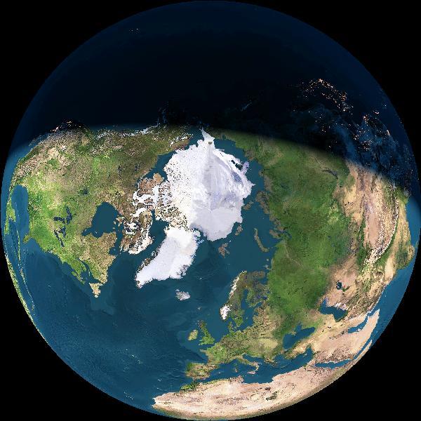CURRENT TERMINATOR ON EARTH Earth?img=learth&opt=-l&dynimg=y&alt=150000000&date=0&imgsize=600&ns=North&ew=East&lat=90&lon=0