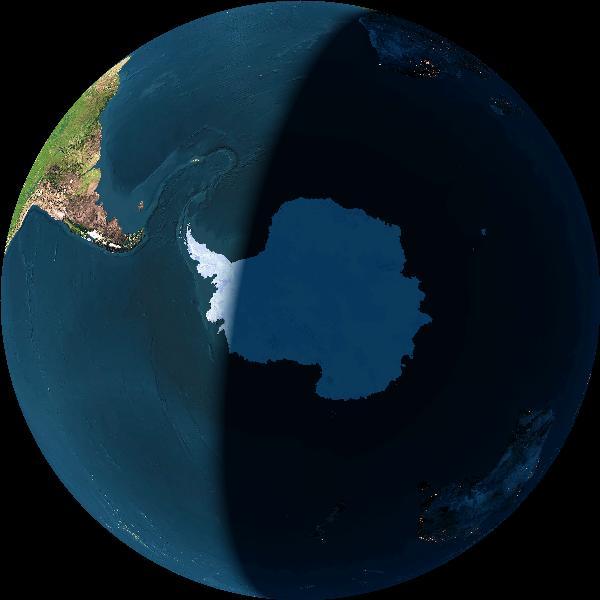 CURRENT TERMINATOR ON EARTH Earth?img=learth&opt=-l&dynimg=y&alt=150000000&date=0&imgsize=600&ns=South&ew=East&lat=90&lon=0