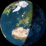 La nostra casa sul nostro pianeta visto dallo spazio