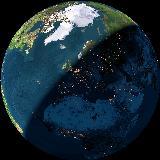 La nostra casa sul nostro pianeta vista dallo spazio