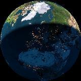 Moj dom na planetu, pogled iz vesolja