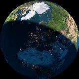 Naš dom na našem planetu, pogled iz vesolja