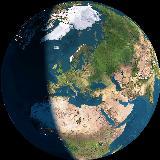 Otthonunkból ezt látjuk az űrből