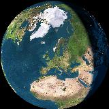 Our home on our planet as seen from space