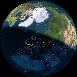 Maa avaruudesta nähtynä