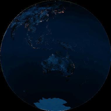 Earth Opposite Sun