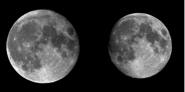 Perigee Moon If Full Moon Seemed Bigger >> Inconstant Moon The Moon At Perigee And Apogee