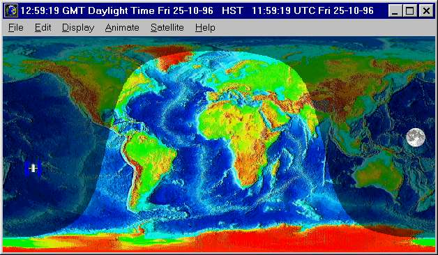Home planet release 33a an earth map showing day and night gumiabroncs Image collections