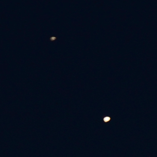 Jupiter and Saturn, 2020-12-18